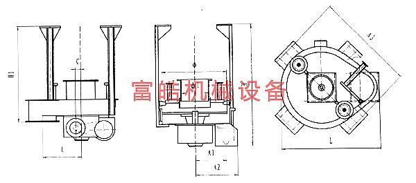 (四)DK、DB型吊式圆盘给料机说明: 1、DK、DB型圆盘给料机供货时一般为减速机及普通电机,如需在特殊场合中使用,需订货时说明,如改用防爆电机、减速机或有其它特殊要求等。 2、DK、DB型圆盘给料机,也可制成座式,并且也分闭式和开式两种结构。 销售热线:18790524419